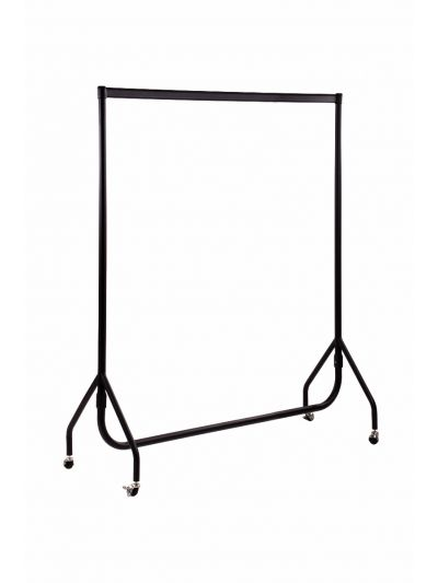 Set van 2 kledingrekken sterk  zwart 150 cm bxhxd 150x156x52 cm