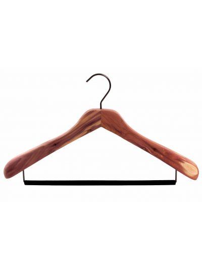 Set 5 kledinghangers contour body met brede schouders en hanglat